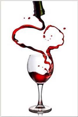 Tranh đồng hồ ly rượu vang tình yêu AmiA 965